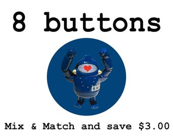 Mix and Match - 8 Buttons