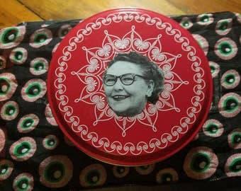 Nannie Doss Thrift Art Tin