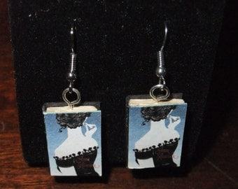 Anna Karenina Book Earrings - Great Gift for Book Lovers!