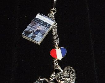 Les Miserables Book Keychain - Great Gift for Book Lovers!