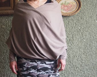 Artistic Blouse   Scar, Knitted Cotton Blouse & Nara  B006