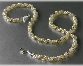 Maria necklace beading TUTORIAL