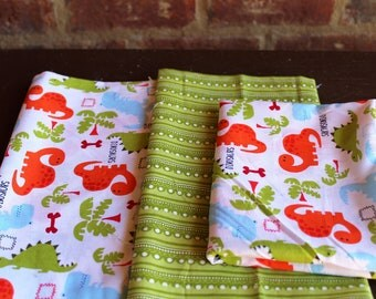Fabric Bundle - Dinosaur or Under the Sea