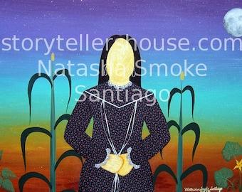 Cornhusk Woman