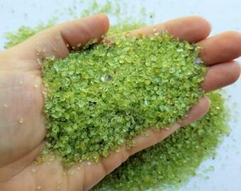 Small Green Peridot Stones, Tiny Stones, Chip Stones, Small Peridot Rocks, Tiny Rocks, Tiny Stones, Natural Stones, Natural Green Peridot