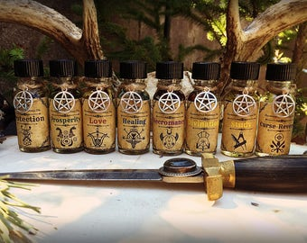 SPELL OIL ~ Witchcrafted Potion ~ (1) 1/2 Ounce Bottle