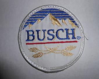 """Vintage Busch Beer Patch 3"""""""