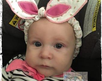 Bunny Headband, Bunny Ears Headband, Rabbit Ears Headband, Baby Headband, Toddler Headband, Girls Headband, Child Headband, Easter Headband