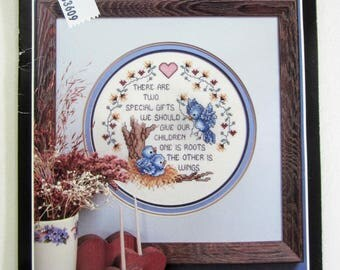 Stoney Creek Collection Wings Counted Cross Stitch Kit SCC1002