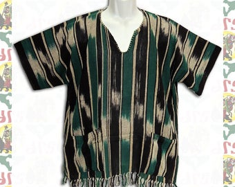 Ethiopian Traditional Wolayita Shirt L (m-a114)