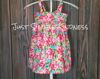 Girls Easter Dress, Girls Dresses, Girls Floral Dress, Girls Spring Dress, Girls Easter Dress, Baby Easter Dress, Girls' Clothing, Dresses