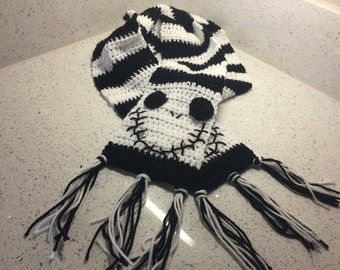 Nightmare Before Christmas Jack Skellington Scarf