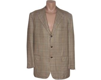 Vintage Kiton per Pauw Mannen men blazer 100% cashmere Made in Italy