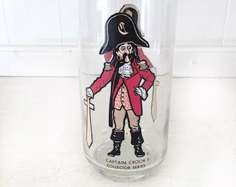 Vintage Captain Crook Collectors Glass|Vintage McDonalds Drinking Glasses|Captain Crook Drinking Glass|McDonalds Christmas Gift Idea
