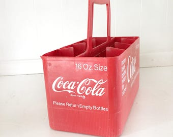 Vintage Coca Cola Glass Bottle Holder|Coca Cola Collectible