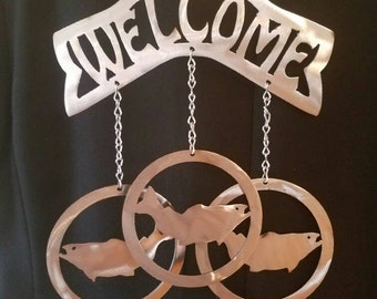 Fish  Welcome Wind Chime