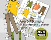 Paper Doll Fashions- Mix ...