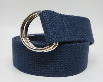 D Ring Belt, 1.5 inch, Mens Belts, Womens Belts, Webbing Belts, Canvas Belts, Cotton Belts, Plus Size, Big and Tall Belts, 4038150