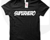 Superhero t shirt, superhero shirt for dad, gift for boyfriend, superhero fan, comic book lover tshirt, DC comics T-shirt
