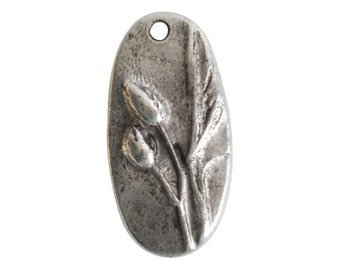 North Cascades Pendant - Antique Silver (plated)