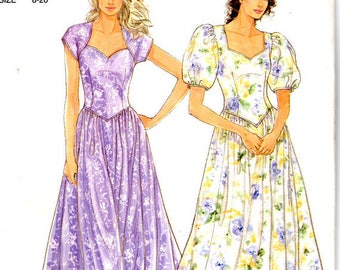 Simplicity It's So Easy 7142 – Sweetheart Neckline Full Skirt Fitted Bodice Dress Sewing Pattern – SIZE 8-20