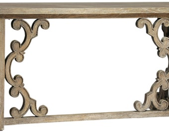 Distressed Wood Console Sofa Table From Terra Nova Designs