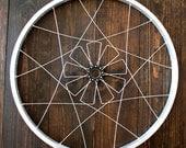 Bicycle wall art, Luma Mandala | recycled bike wheel parts | gift | Free Shipping!