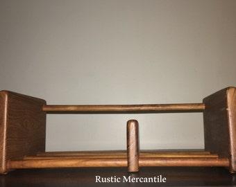Mid Century Modern Wood Shelf  Baker, Hart and Stuart - Solid Teak Shelf Stand Rectangular
