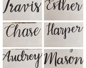 Custom Handwritten Name