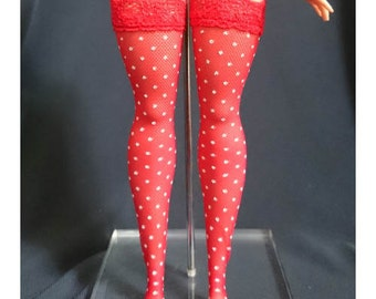 Dolls stockings for CURVY barbie - No.2351