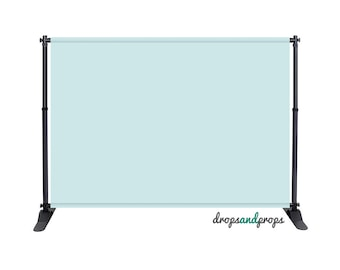 Baby Blue Solid - Photography Backdrop