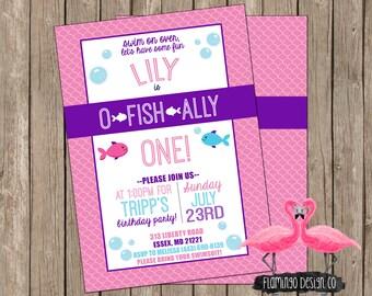 Girl Ofishally Birthday Invitation (digital & card stock)
