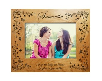 Personalized Mother's Frame to Daughter