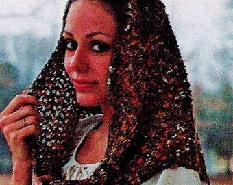 Crochet Scarf Vintage Crochet Pattern Download