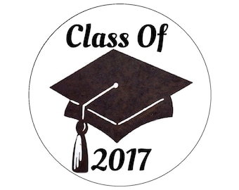 graduation cap 2017 edible cake topper decoration party cupcake cookie round cap diploma sugar sheet decal