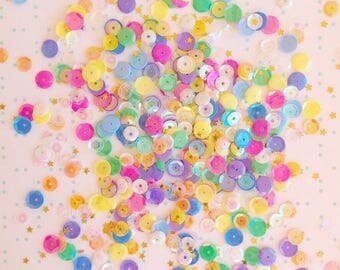Rainbow Cake Batter Sequin Mix packet