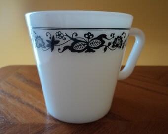 Pyrex Cup / Mug  Old Town Blue Pattern