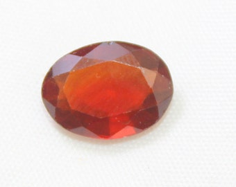 5.00 carat Natural Hassonite garnet faceted cut loose gemstone size 12.80 mm x 9.50 mm x 4.70 mm approx. 0186