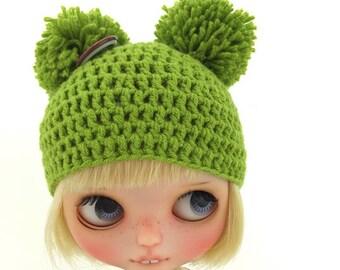 Blythe ball-ball hat dark green