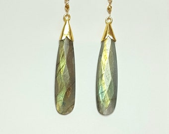 So Sleek Labradorite Drops