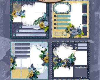 Digital Scrapbooking, Quick Pages, Bring It On