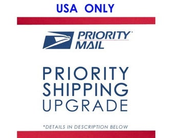 Upgrade Plushie order to Priority mail