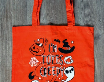 I'm Totes Creepy - Tote Bag