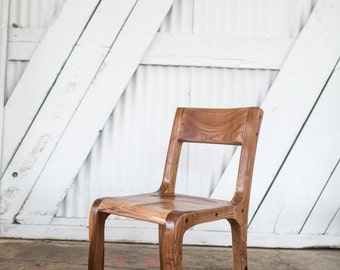 The Solid Walnut Kingston Chair