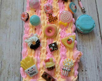 Lovely Peach Sweets Decoden Case