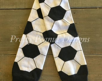 Soccer Baby Leg Warmers - Baby Leg Warmers - Girl or Boy