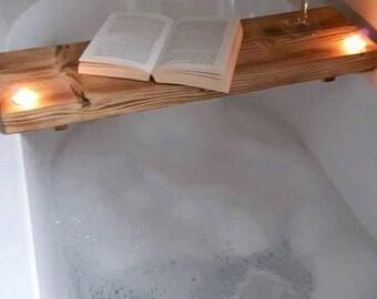 Bath Bar Board with Tea Lights