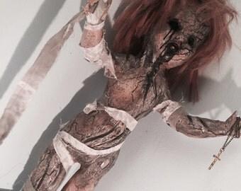 "Creepy Horror Doll ""The Plague"""