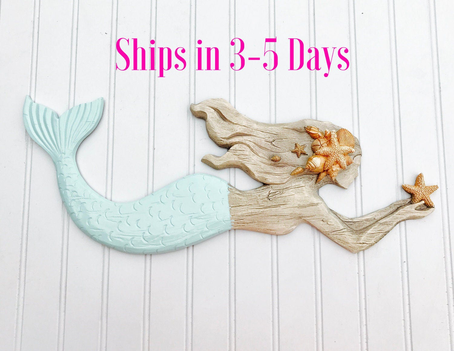 Mermaid sign mermaid decor bathroom decor bedroom decor - Mermaid decor bathroom ...