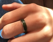 Vintage Men's Mood Ring Size 10 1/4 Metal Band Trending Jewelry Stackable Unisex Ring Women's Thumb Ring Color Changing Costume Ring